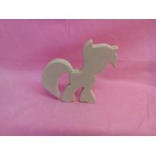 18mm MDF Standing fantasy pony design 3